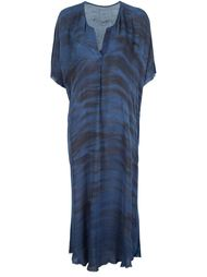 printed loose midi dress  Raquel Allegra
