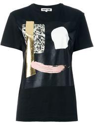 abstract face print T-shirt  McQ Alexander McQueen