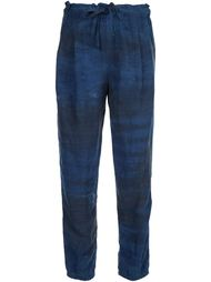 tie-dye print tapered trousers  Raquel Allegra