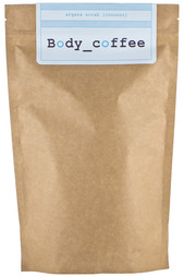 Скраб кофейный кокос Huilargan