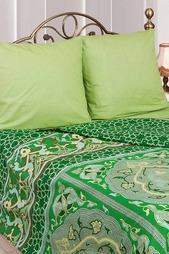 Постельное белье Евро 50x70 Сова и Жаворонок