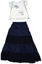 Комплект: блузка, юбка Luna