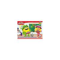 Альбом для рисования А4 с раскрасками (20 листов), Play-Doh Академия групп