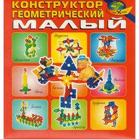 """Развивающая игра """"Конструктор геомертический (малый)"""" Корвет"""
