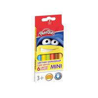 """Цветные карандаши """"Mini"""" 6 цветов, Play-Doh Академия групп"""