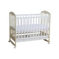 Кроватка 325, Фея, белый-ваниль