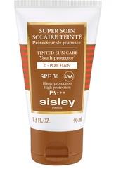 Солнцезащитный оттеночный крем для лица с SPF30, оттенок Фарфор Sisley