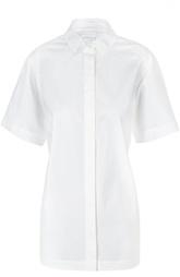 Блуза свободного кроя с укороченным рукавом DKNY
