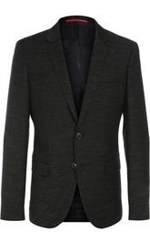 Пиджак из текстурированной шерсти Hugo