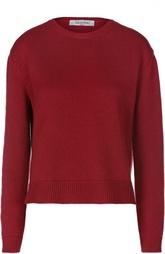 Кашемировый пуловер свободного кроя с круглым вырезом Valentino