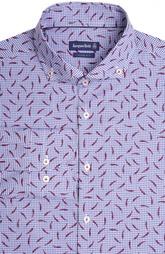 Приталенная сорочка с принтом Jacques Britt