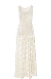 Кружевное полупрозрачное платье-миди Denim&Supply by Ralph Lauren