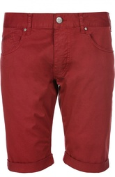 Шорты из эластичного хлопка Armani Jeans