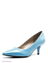 Голубые Туфли Moda Donna