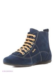 Синие Ботинки MILANA
