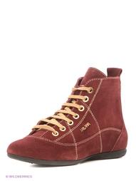 Красные Ботинки MILANA