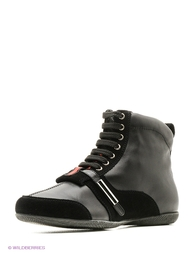 Черные Ботинки MILANA