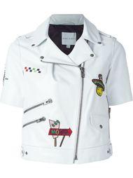 байкерская куртка с короткими рукавами Mira Mikati