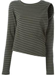 блузка в полоску  Mm6 Maison Margiela