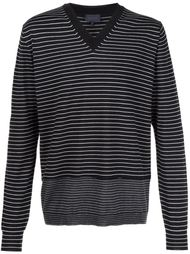 striped v-neck jumper Lanvin