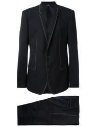 вечерний костюм-двойка с контрастной окантовкой Dolce & Gabbana