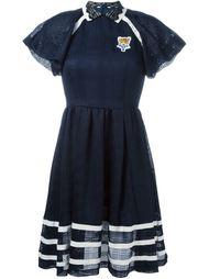 платье-поло с кружевным воротником  Tamaki Fujie