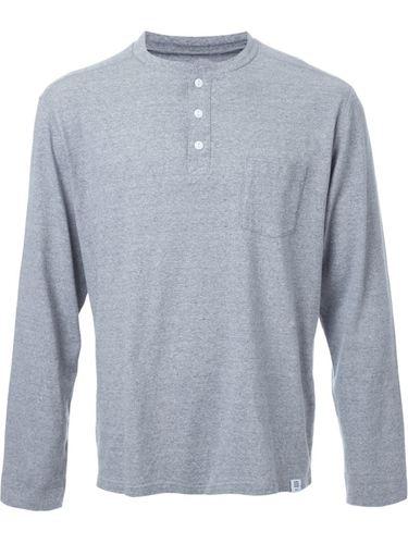 longsleeved henley T-shirt Bedwin & The Heartbreakers