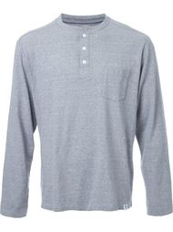 longsleeved henley T-shirt Bedwin & The Heartbreakers