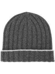 шапка ребристой вязки Brunello Cucinelli