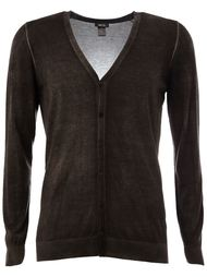 faded effect V-neck cardigan Avant Toi