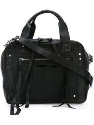 сумка-тоут с тиснением логотипа McQ Alexander McQueen