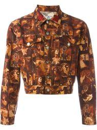 укороченная джинсовая куртка  Jean Paul Gaultier Vintage