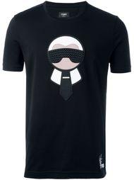футболка 'Karlito'  Fendi