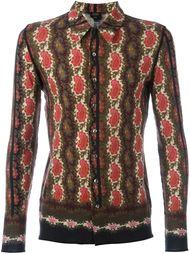 рубашка с принтом пейсли Jean Paul Gaultier Vintage