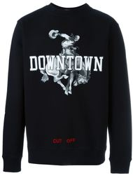 downtown print sweatshirt Off-White