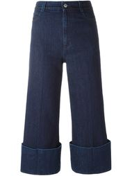 cropped high-rise flared jeans Stella McCartney
