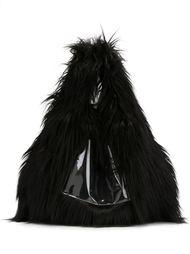 сумка-тоут из искусственного меха Mm6 Maison Margiela