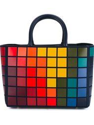 сумка-тоут 'Pixels Featherweight Ebury'  Anya Hindmarch