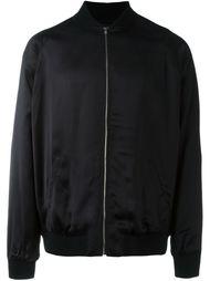 куртка бомбер с вышивкой Saint Laurent