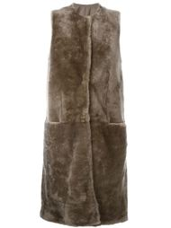 sleeveless coat Salvatore Santoro