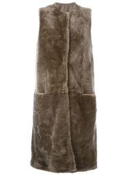 sleeveless coat Salvatore Santoro