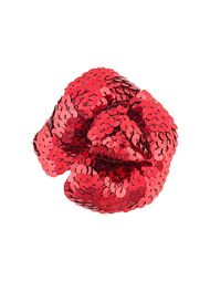 брошь в виде цветка Chanel Vintage