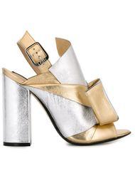 colour block sandals Nº21