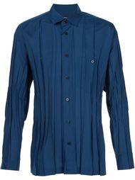 creased effect shirt Issey Miyake Men