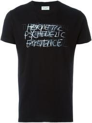 футболка 'Hermetic Psychedelic Existence'  Saint Laurent