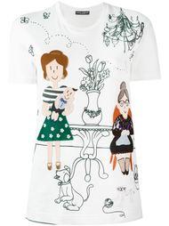 appliqué detail T-shirt Dolce & Gabbana