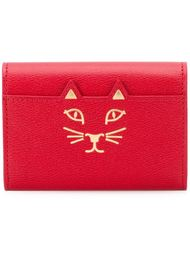 'Feline' card holder Charlotte Olympia
