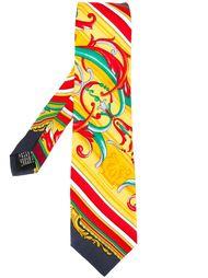 printed tie Versace Vintage
