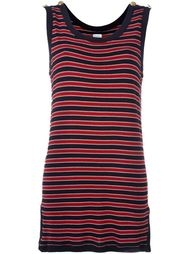 striped tank dress Moschino Vintage