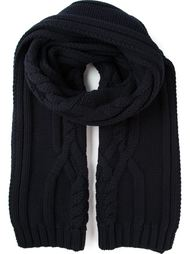 шарф крупной вязки Salvatore Ferragamo